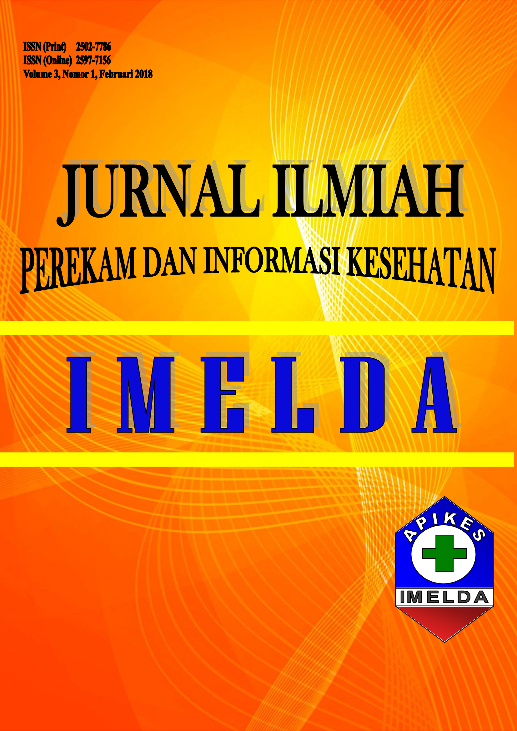 Jurnal Ilmiah Perekam dan Informasi Kesehatan Imelda (JIPIKI) ISSN (Print) : ISSN (Online) :